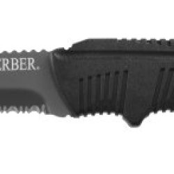 Gerber 22-41028 Serrated River Knife With Form Fitted Sheath