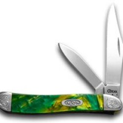 Case Xx Engraved Bolster Series Genuine Cats Eye Corelon Peanut Pocket Knives