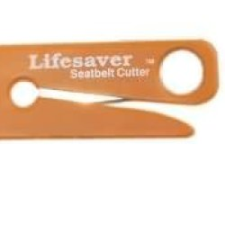 Lifesaver Seatbelt Cutter