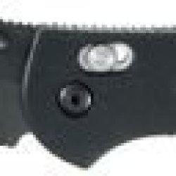 Benchmade 551 Griptilian Folding Knife, Plain Edge/ Bk1 Coated Blade 551Bk