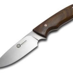 Boker Arbolito Guayacan Ebony Wood Pine Creek Fixed Blade Stainless Knife