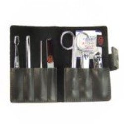 Three Seven Professional Stainless Steel Manicure Set 7 Pieces Pack