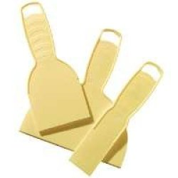 "Hyde Tools 05610 ""Economy Series"" Plastic Putty Knife - 3Pc"