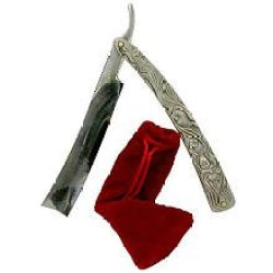 Sweeney Todd Razor With Pouch Prop Replica