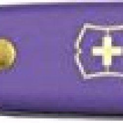Victorinox Floral Knife Purple Fold Knife 3.9050.22