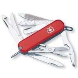 Victorinox-Swiss Army 53973 Minichamp Pocket Knife - Quantity 1
