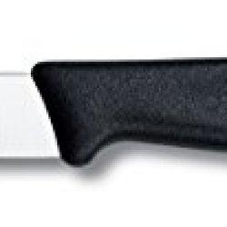 Victorinox Swiss Army 3-1/4-Inch Fibrox Straight Edge Paring Knife, Black