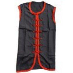 Playwell Martial Arts Ultra Light Microfibre Wing Chun Sleeveless Uniform - 170Cm