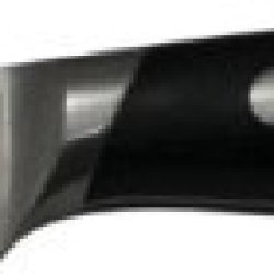Chubbco 1.4116 Crmov15 Steel Paring Knife With Curved Black Pakka Wood Handle, 3-Inch