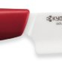 Kyocera Revolution Series 4-1/4-Inch Utility Knife, Red Handle