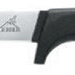 Muskie, Cast Aluminum Handle, Plain, Leather Sheath