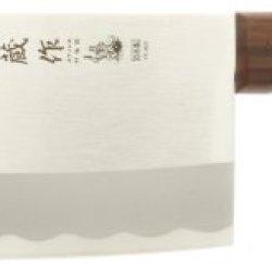 Kotobuki 440-146 Japanese Chef'S Cleaver, Silver