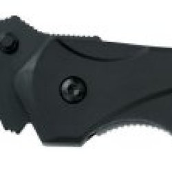 Gerber 22-41405 Kiowa Tanto Knife, Black, Serrated Edge