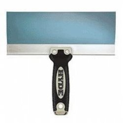 Hyde 09263 Pro Project Folded Backing Taping Knife 10'', Blue Steel