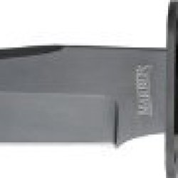 Marbles Outdoors Knives 246 Jet Pilot Bowie Fixed Blade Knife With Stacked Leather Handles