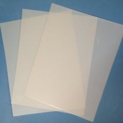 "Heavy Duty 14Mil Mylar Stencil Sheets - .014"" Thick Polyester Sheet 14""X10"" (10-Pack)"