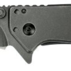 Kershaw 1555Tbw Cryo Tanto Folding Knife With Blackwash Speedsafe