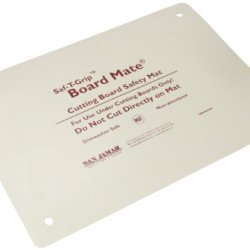 "San Jamar Cbm1318 Saf-T-Grip Board-Mate Nonslip Cutting Board, 18"" Width X 13"" Height"
