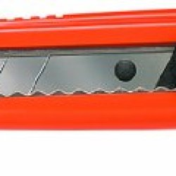Allway Tools 18-Mm Neon 7-Point Deluxe Snap Off Knife With 3 Blades