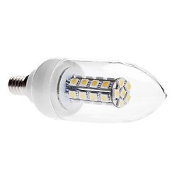 6 W E14 X5050 Smd 30, 420-450 Lm Warm White Led Candle Bulb, 3000-3500 K (85-265 - V)
