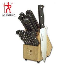 J.A. Henckels International Eversharp Pro 13-Piece Knife Set With Block