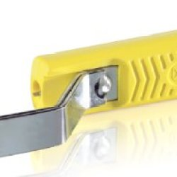 Jokari 10700 Standard Completely Insulated Cable Stripping Knife For All Standard Round Cables, No. 70