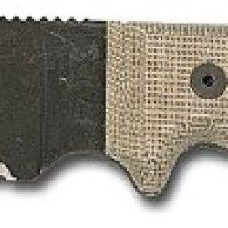 "Ontario Rat 3 Utility Knife W/ 3.5"" Serrated Blade & Black Sheath"