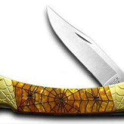 Buck 110 Recluse Hunter Custom Antique Gold Corelon 1/200 Knives