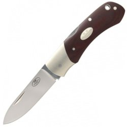 Fallkniven Fh9 Folding Hunter Folding Knife,Laminate Powder Steel Blade, Maroon Micarta Handle