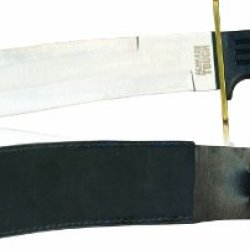 "Schrade 10"" Bowie Knife With Sheath"