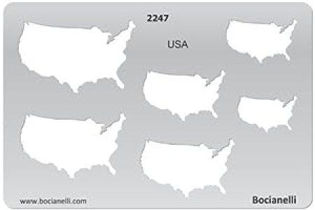 amazon.com plastic stencil template for graphical design