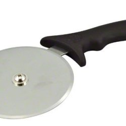 American Metalcraft Ppc5 Stainless Steel Pizza Cutter Wheel With Black Plastic Handle, 5-Inch