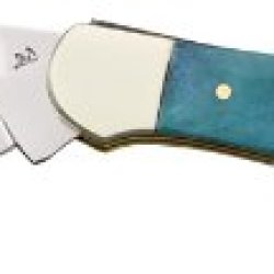Frost Cutlery & Knives 14027Cbs Copperhead Pocket Knife With Cancun Smooth Bone Handles