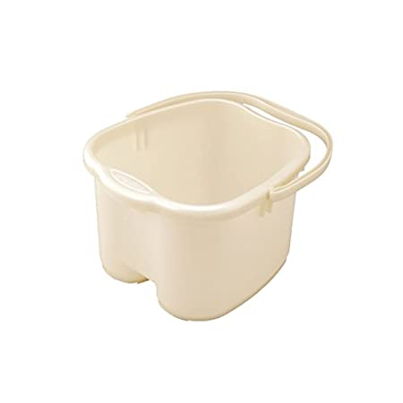 This foot basin is uniquely designed for foot soaking. The bucket is shaped to match the shape of your feet for comfort and tall so you can soak and bath the entire feet and ankles. When you have been on your feet all day, your feet need a good relax...