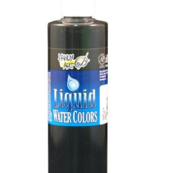 Handy Art By Rock Paint, 276-060, Washable Liquid Watercolor 1, Gray, 8-Ounce