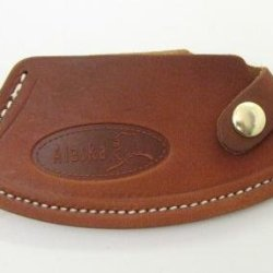 Alaska Genuine Leather Ulu Knife Quality Sheath