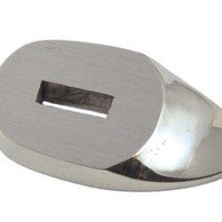 "#Ns563 Precision Knife Guard- Nickel Silver 1-5/8"" X 7/8""X1/4"""