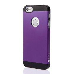 Iphone 5 Purple Case, Purple Aluminum Iphone 5S Case Cover: Apple Iphone 5 Case Cover Of Purple Aluminum Metal On Slim Pc. Amplim Alloy Purple Apple Iphone 5 Case Cover Retail Packaging. Purple Apple Iphone 5 Case Cover For At&T, Verizon, Sprint, T-Mobile