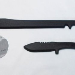 Training Commando Sword Tactical Bowie Dagger Knife & Instruction Techniques Dvd *Not For Contact Training*
