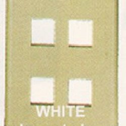 Ic107F04Wh - 4Port Face White Ic107F04Wh - 4Port Face White