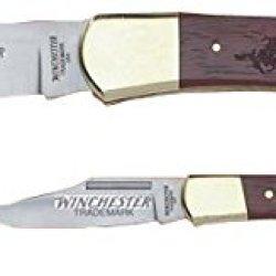Winchester Knives Lockback Knife Combo Set, 3In Lockback And 5In Lockback W/Wood W 40 14017