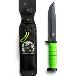 "Cutco/Ka-Bar Explorer - Special ""Zombie Killer"" Edition - Outdoor Knife W/ Sheath #5725Zk"