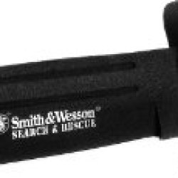 """Smith & Wesson Cksur2 Bullseye Search And Rescue 10.5"""" Fixed Blade Powder Coat With Sheath"""