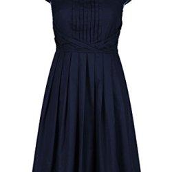 Eshakti Women'S Olivia Dress 1X-16W Regular Deep Navy