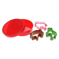 Cookie Cutters Farm Animals Set Of 3 In A Tub - Pig - Sheep