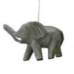 Creative Co-Op Paper Mache Safari Animal Ornament, Choice Of Animal (Elephant)
