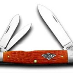 Case Xx Tangerine Cigar Whittler 1/100 Limited Edition Vintage Series Pocket Knife Knives