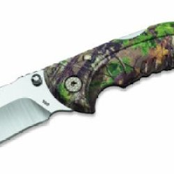 Buck Knives 0395Cms20 Folding Omni Hunter Knife, 10 Pt, Realtree Xtra Green Camo