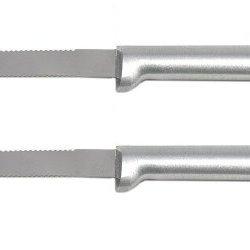Rada Cutlery Grapefruit Knife, Aluminum Handle, Made In Usa (Pack Of 2 - R130/2)
