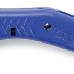 Lutz 35700 #357 Blue Quick Change Heavy Duty Utiltity Knife And Plastic Holster (357-Bl)